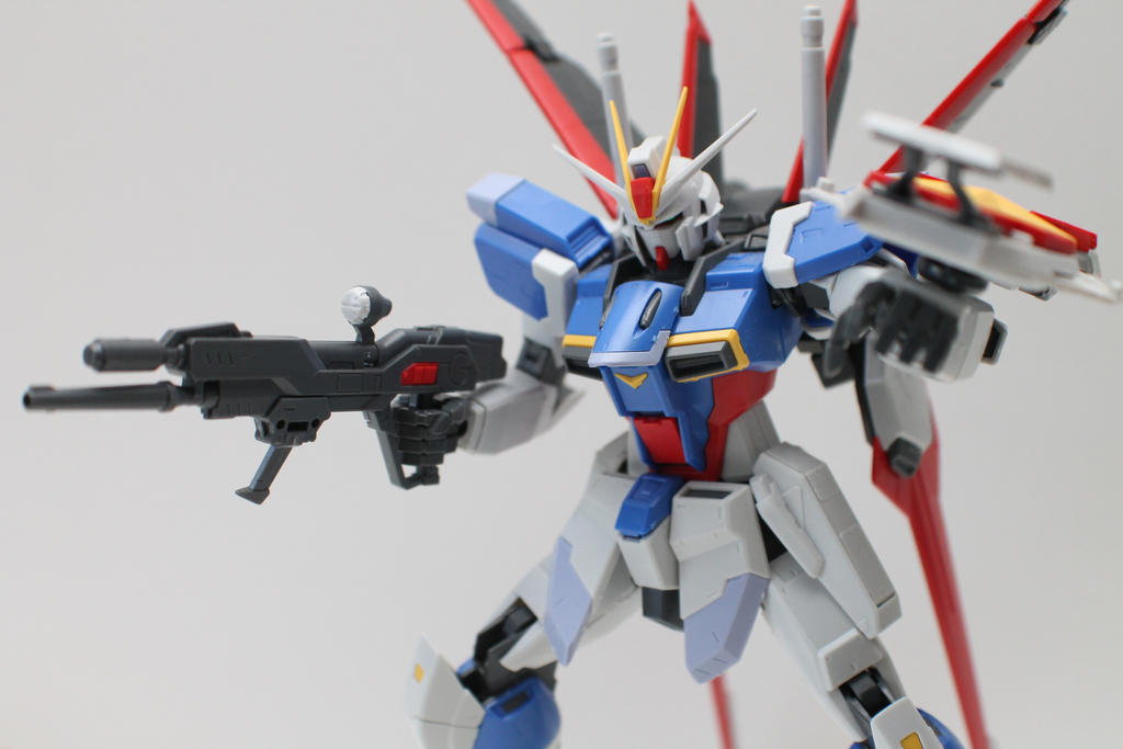 Force Impulse Gundam by ukklee