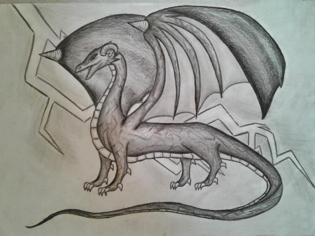 Thunder Dragon by Tinch123