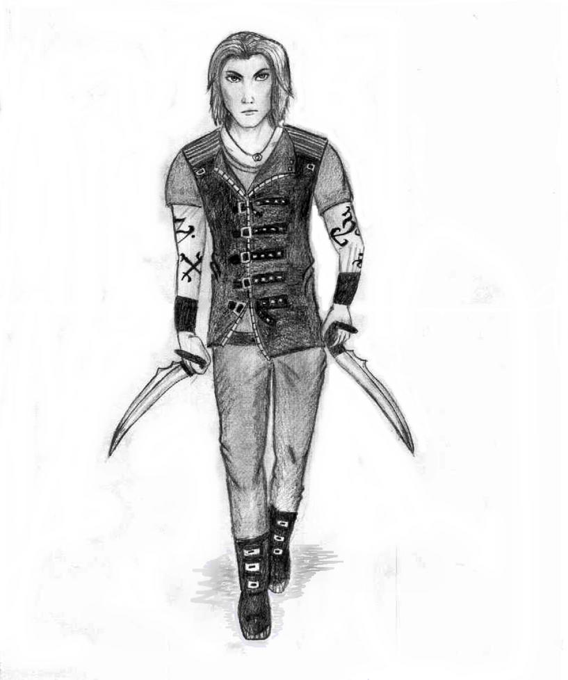 Shadow Hunter by Tinch123