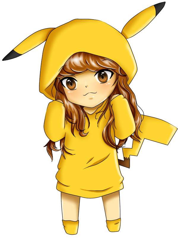 chibi pikachu =3 =3 =3 so kawaii =3 =3 =3 by Toxicwolfgirl88 on ...