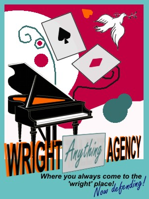 Wright Anything Agency Flyer by MagicalMagicianTrucy