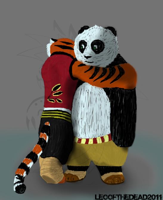 Kung fu panda tiger - photo#6
