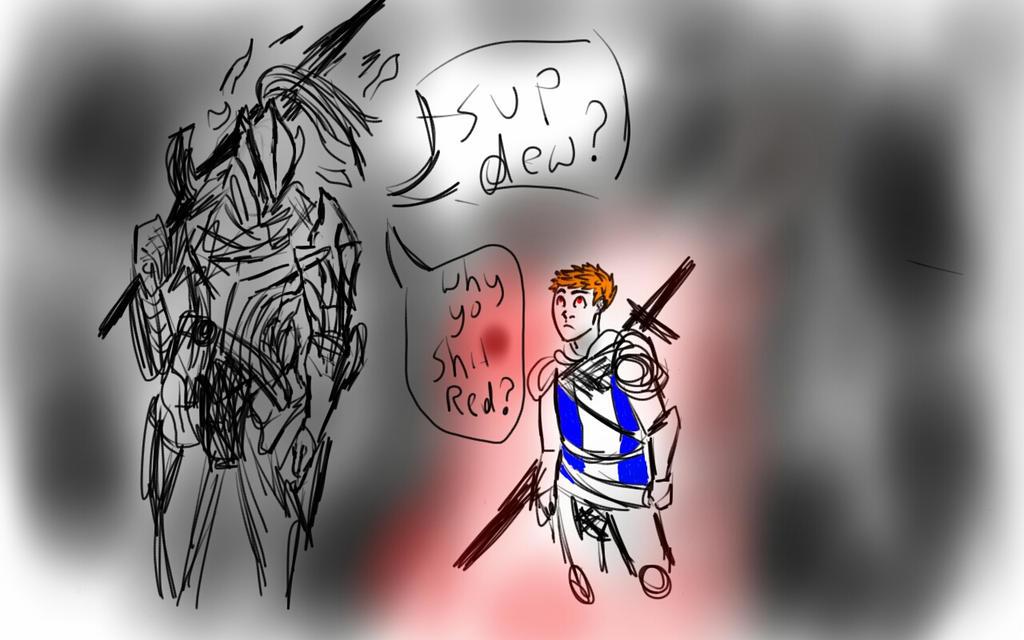 Dark Souls: Artorias  Sup Dew by Wardood133