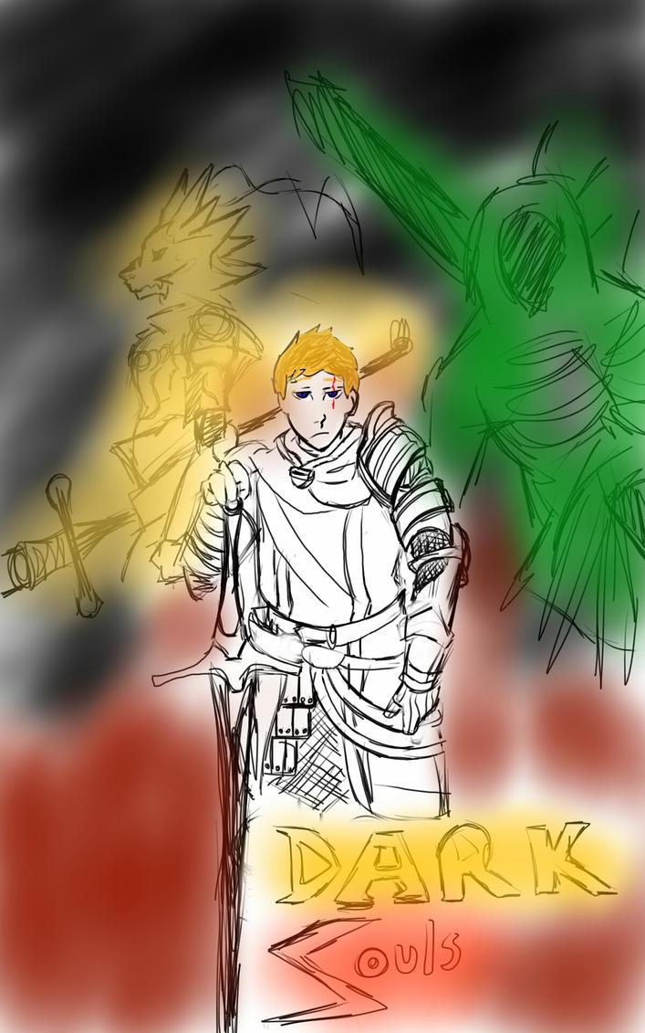 Dark Souls 2: My first bosses by Wardood133