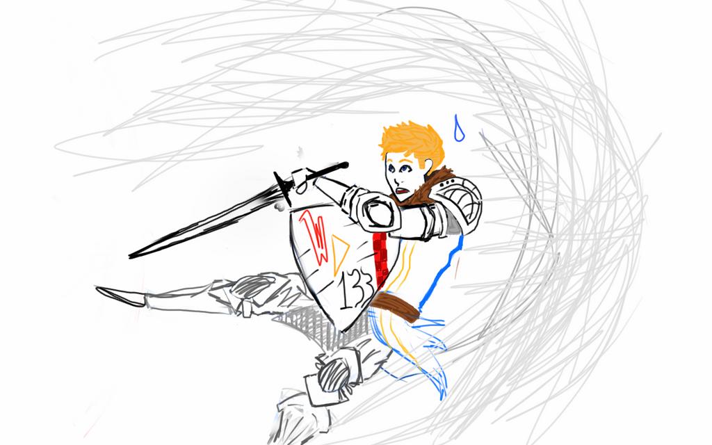 Dark Souls Sketchy Sketch by Wardood133