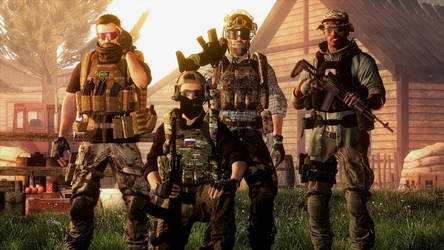 The PMC Squad by JohnSheppard44