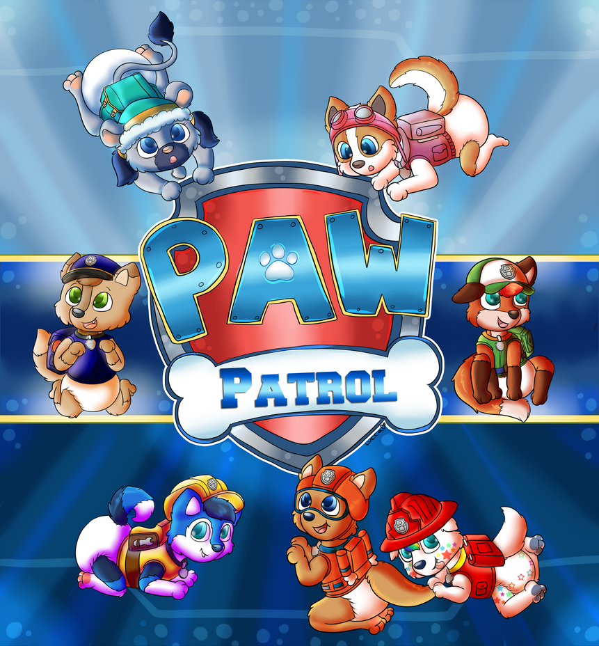 Paw Patrol Pic By Lucca By Onikiba87 On DeviantArt