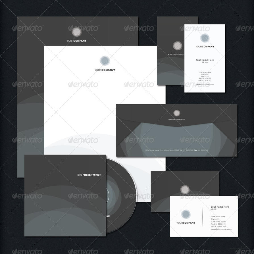 corporate identity package by emvalibe on deviantart
