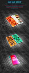 Rack Card Mockup by emvalibe