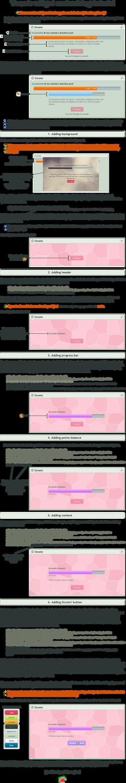 Donate widget customizing tutorial by UszatyArbuz