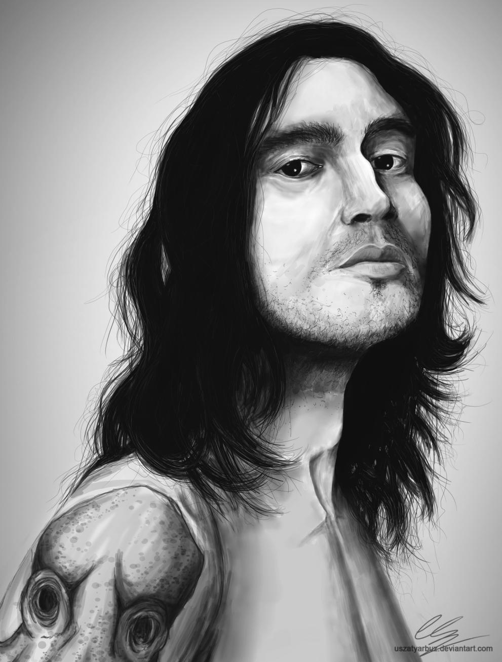 John Frusciante by UszatyArbuz