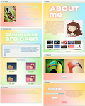 dA profile: Pastel wonder theme