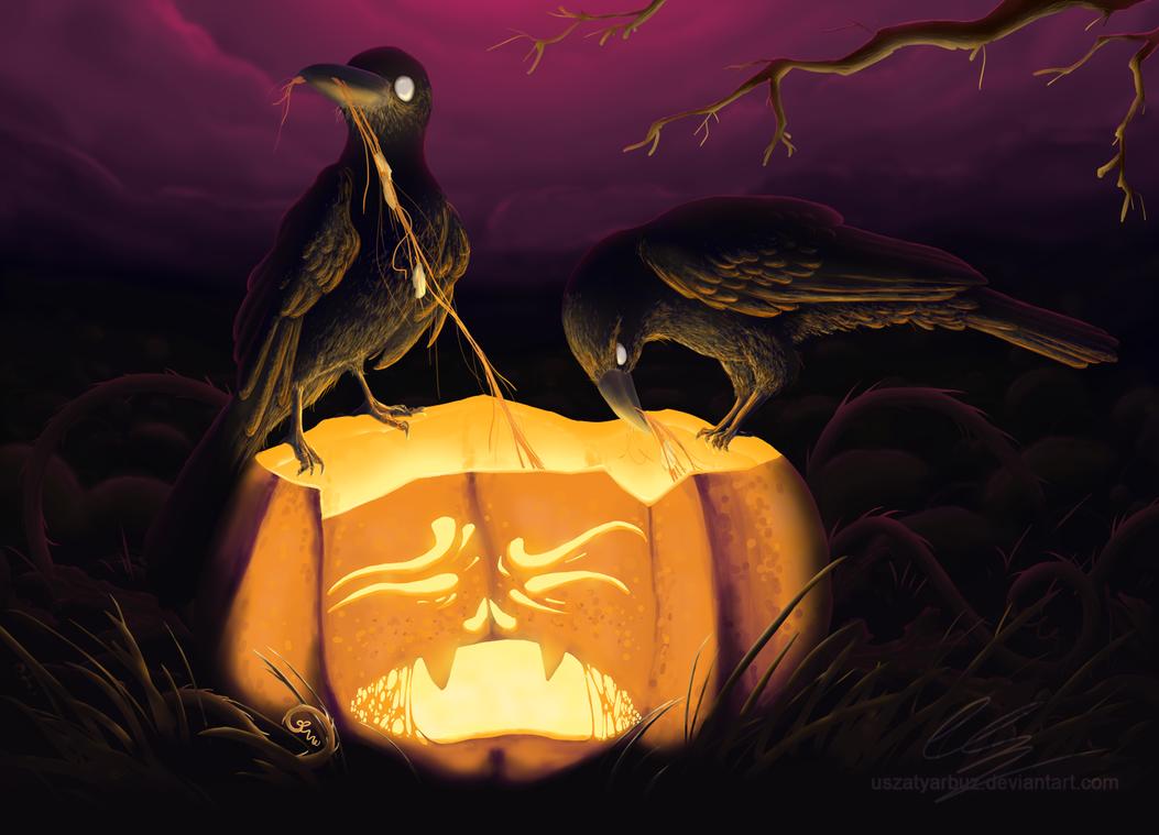 Halloween Feast by UszatyArbuz