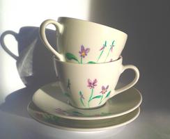 Violets set by UszatyArbuz