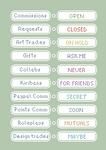 Tiny pixel art status icon pack