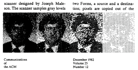 An Example Of Picture Cells Pixels In The ACM Presidents Letter Pixel Art Clipping Is Dedicated To Memory Joseph Maleson Who Worked On