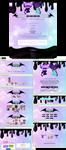 Pastel  journal skin and profile design by UszatyArbuz