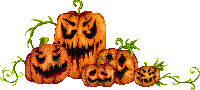 Oh so scary pumpkins by UszatyArbuz