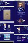 Royal blue profile pimping