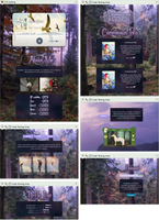 Evening in a forest profile page by UszatyArbuz