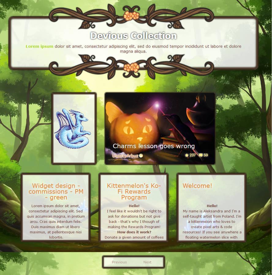 Pokemon Township gallery skin by UszatyArbuz