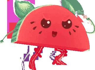 Eager Kittenmelon by UszatyArbuz