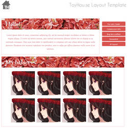 ToyHouse: Touch of roses (HTML)