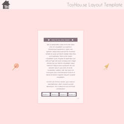 ToyHouse: Pink candy (HTML)