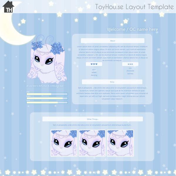 ToyHouse: Goodnight Moon (HTML P2U) by UszatyArbuz on DeviantArt