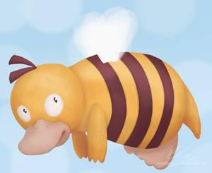 Bee Psyduck
