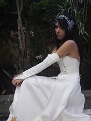 In the garden-Princess Garnet