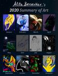 2020 - Summary of Art by Alita-Berserker