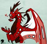 Happy Dragon Momma by Alita-Berserker