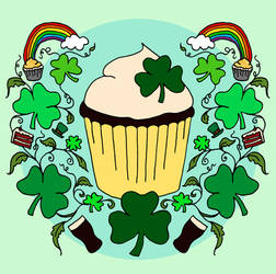 Cupcake and Clovers