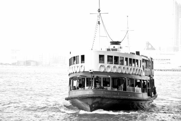 Star Ferry in Hong Kong by kelvinchai