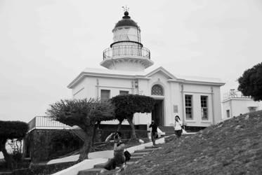 Lighthouse, 3 Photographers