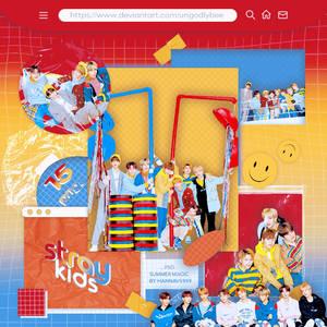 #46 PNG PACK [Stray Kids - Dazed Korea Feb 2018]