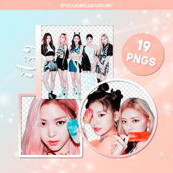 #66 PNG PACK [ITZY - IT'z ICY] by woochans