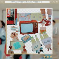 MV Set PNGs [Stray Kids - Get Cool]