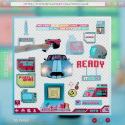 MV Set PNGs [Cherry Bullet - QA]