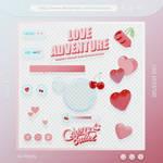 Album Artwork PNGs [CherryBullet - Love Adventure]