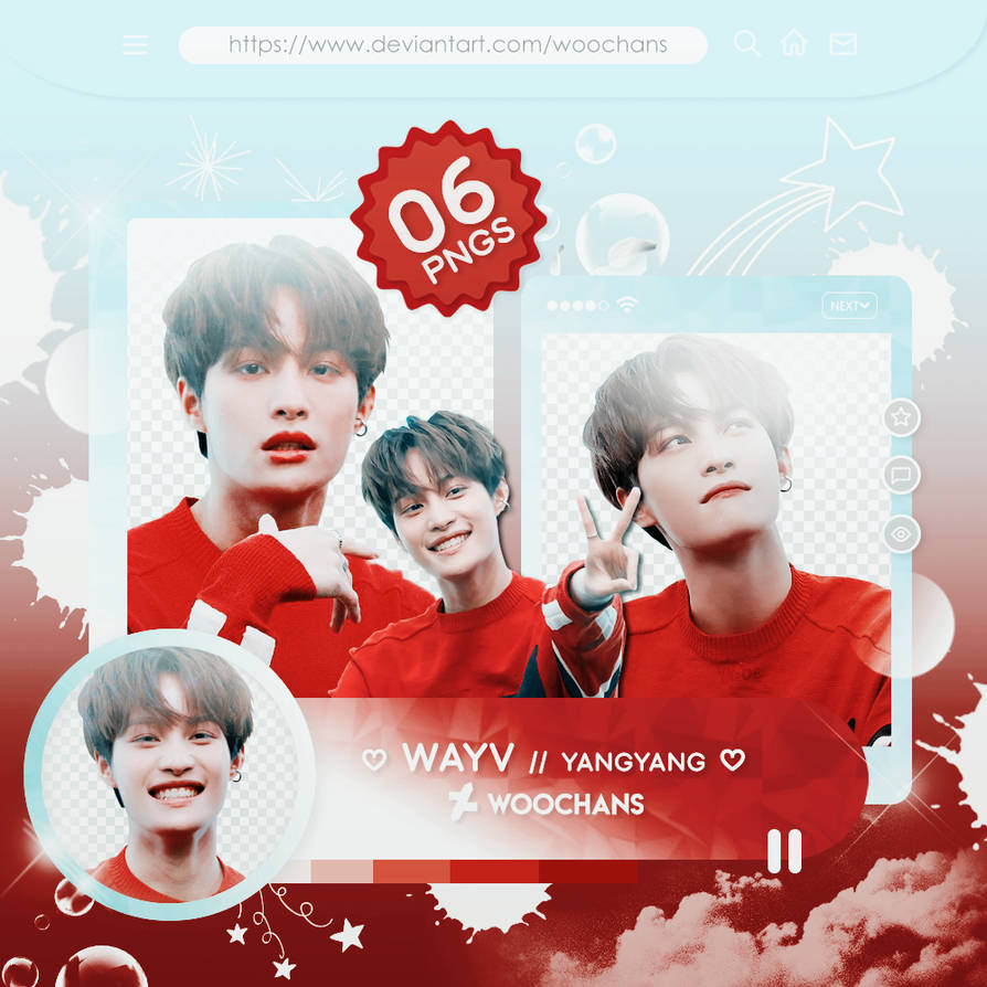 316 Png Pack Wayv Yangyang By Ungodlybee On Deviantart