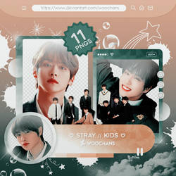 #379 PNG PACK [Stray Kids - Mixtape On Track]