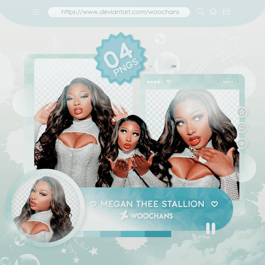 385 png pack megan thee stallion by ungodlybee on deviantart 385 png pack megan thee stallion by
