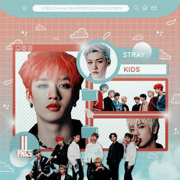 #427 PNG PACK [Stray Kids - TOP]