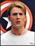Chris Evans as Steve Rogers / Captain America