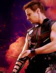 Jeremy Renner as Clint Barton / Hawkeye