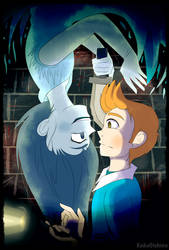 A spooky mansion |TINTIN and SPOOKY| by KeikoOtohime
