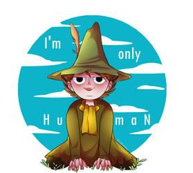 Snufkin |MoominValley| by KeikoOtohime