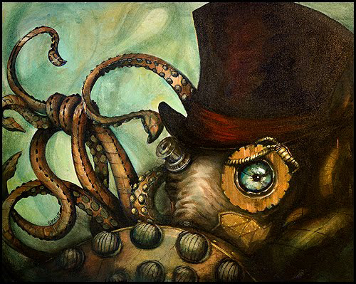 [Jeu] Association d'images - Page 6 Steampunk_Octopus_by_ToxicPretty
